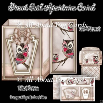 Great Owl Aperture Card