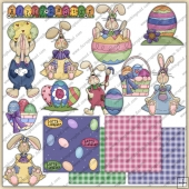 Easter Set 2 ClipArt Graphic Collection