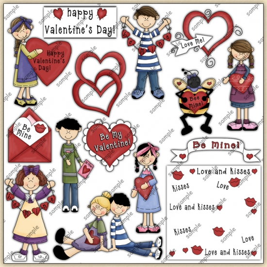 Valentines Day ClipArt Graphic Collection - Click Image to Close