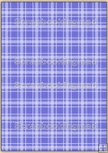 A4 Backing Papers Single - Blue Gingham - REF_BP_136