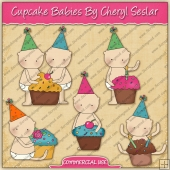 Cupcake Babies Graphic Collection - REF - CS