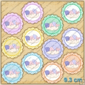 Baby Disks Topper Sheet PDF Download & PNG