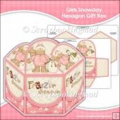 Girls Snowday Hexagon Gift Box