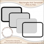Rectangle Mat Templates Commercial Use OK