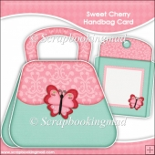 Sweet Cherry Handbag Card & Envelope