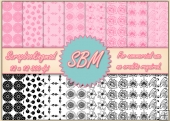 8 PNG Paper Overlays 12 x 12 Designer Resources Pack 9