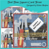 Tool Time Square Cardfront