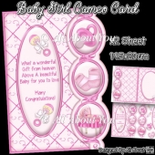 Baby Boy Cameo Card
