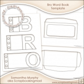 Bro Word Book Template Commercial Use