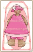 Ginger Bread Girl (4) Decorative Tag