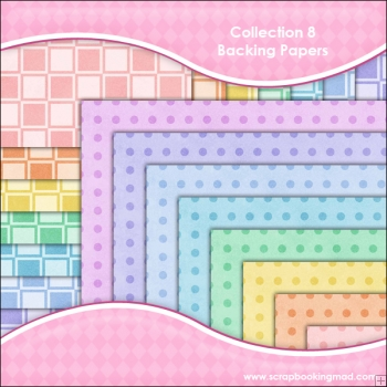 Collection 8 - 16 backing paper Download