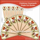 Christmas Ornament Single Fan Blades