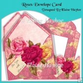 Roses Envelope Card