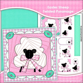 Easter Sheep Twisted Pyramage Download