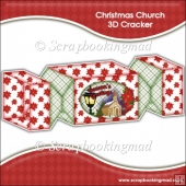 Christmas Church 3D Cracker Gift Box