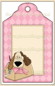Purse Pets Gift Tag - REF_T650