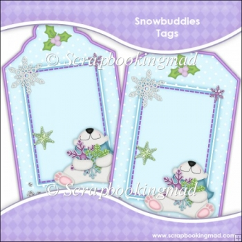 Snowbuddies Gift Tags