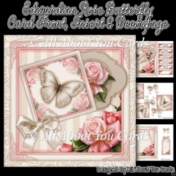 Edwardian Rose Butterfly