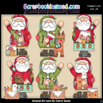 Christmas Nick ClipArt Collection