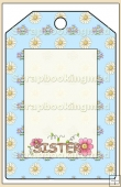 Sister Gift Tag - REF_T579