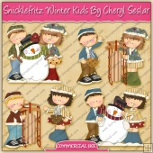 Snicklefritz Winter Kids Graphic Collection - REF - CS