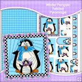 Winter Penguins Twisted Pyramage Download