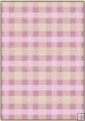 Backing Papers Single - Pink Gingham - REF_BP_35