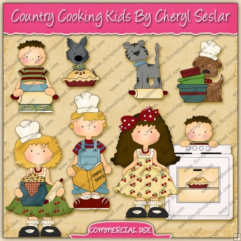 Country Cooking Kids Graphic Collection - REF - CS