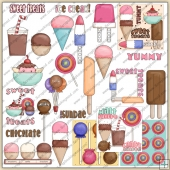 Sweet Summer Treats ClipArt Graphic Collection