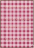 A4 Backing Papers Single - Pink Gingham - REF_BP_152