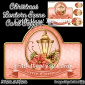 Christmas Lantern Card Topper
