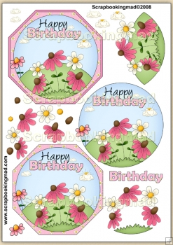 Just An Ordinary Birthday PDF Decoupage Download