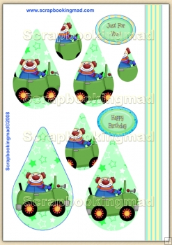 Clowning Around PDF Teardrop Pyramage Download
