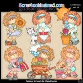 Matilda Loves Summer ClipArt Collection