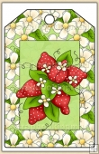 Strawberry Patch Tag - REF_T462