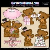 Twila and Tibbles Get Married ClipArt Collection