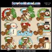 Theodore And Thelma Cold Paws Warm Heart ClipArt Collection