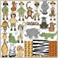 Jungle Safari ClipArt Graphic Collection
