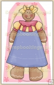 Ginger Bread Girl (6) Decorative Tag