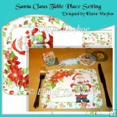Santa Claus Table Place Setting