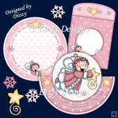 Snow Pixie Rocker Card #2