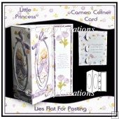 Cameo Corner Card - Little Princess