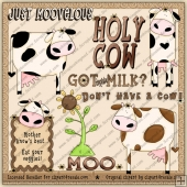 RESALE ART WORK - Holy Cow Clipart Collection