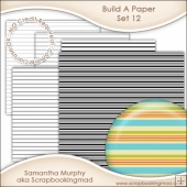 Build A Paper Set 12 - PNG FILES & .PAT File