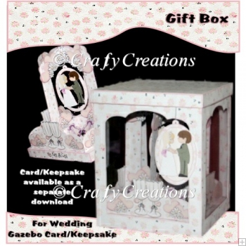 Wedding Gazebo Card/Keepsake Gift Box