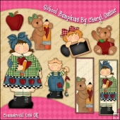 School Bumpkins ClipArt Graphic Collection