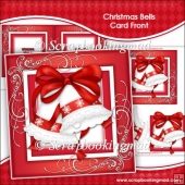 Christmas Bells Card Front and Insert