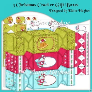 Less Than Half Price Christmas Cracker Gift Boxes