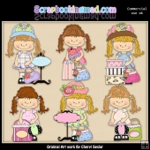 Happy Lulu Shopping Day ClipArt Collection