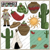 Southwest ClipArt Graphic Collection